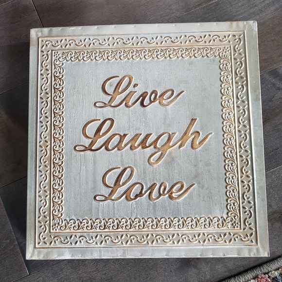 Other - Live Laugh Love Metal Wall Decor